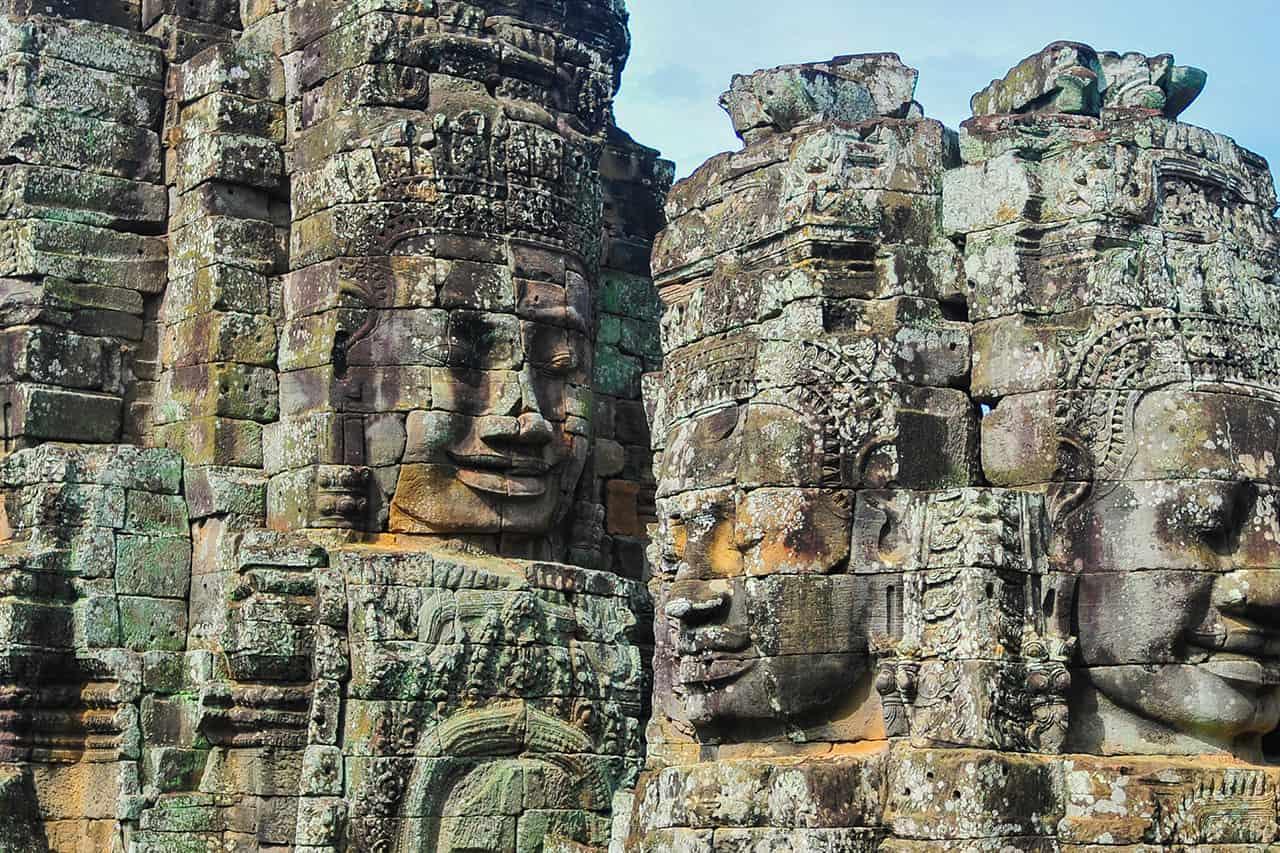 The Bayon Temple- Where 216 Faces Follow You Around!