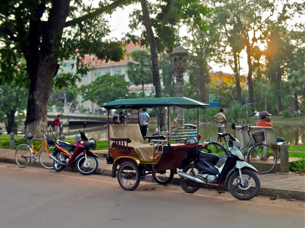 How to Get Around Siem Reap Town?